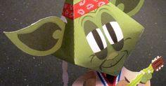 Yoda (mashup) papertoy de Matt Hawkins