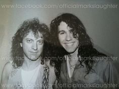 Lou Gramm with Mark Slaughter
