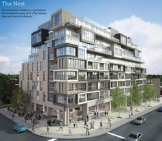 St. Clair Condos - Spread your wings in a sleek, open concept space. Perch on an oversized terrace with a bird's-eye view of the city. Make your home in The Nest, a beautiful nine-storey residence in warm and welcoming Hillcrest Village, just a short jaunt from downtown.