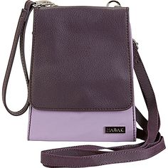 Hadaki Crossbody Wallet - Field Orchid - Crossbody Bags ($60) ❤ liked on Polyvore featuring bags, wallets, purple, cross body, wristlet wallet, wristlet crossbody bag, purple crossbody and purple crossbody bag