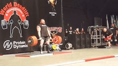 Eddie Hall sets new