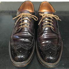 靴紐の結び方 アンダーラップ 靴バカ.com Pen Case, Derby, Shoe Boots, Oxford Shoes, Shoes Sneakers, Dress Shoes, Lace Up, Mens Fashion, Wallet