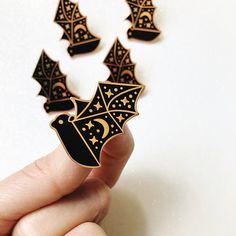 Cosmic Bat Hard Enamel Pin