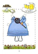 Mouse paper dolls 9 / Mouse / Kids printables coloring pages