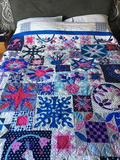 Sarah Fielke BOM 2016 - finished October 2017 Sarah Fielke Quilts, Applique, Scrap, Quilting, October, Inspire, Blanket, Fat Quarters, Blankets