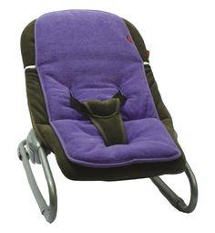 Easy 5851039 - Colchoneta silla mecedora, color morado