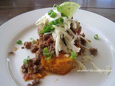 Southwest stuffed sweet potatoes