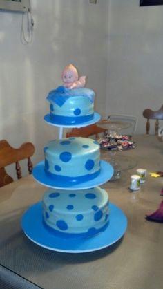 Baby boy fondant cake...its a boy :)