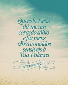 Pensamentos:) Biblical Quotes, Bible Quotes, Bible Verses, Jesus Lives, Jesus Freak, God First, God Jesus, Christen, Word Of God