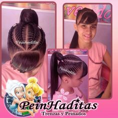 Pedicures, Hair Ideas, Hair Beauty, Hair Styles, Instagram Posts, Braided Updo, Easy Hair, Girls Braids, Little Girl Hair