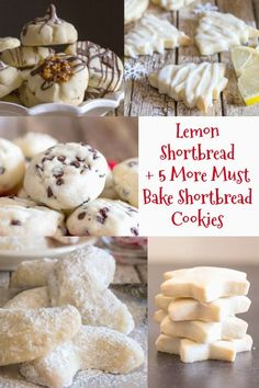 Shortbread Cookies are a must and these Lemon Shortbread are the perfect Lemon Lovers melt in your mouth Cookie. Yummy Cookies, Holiday Cookies, Sugar Cookies, Baking Cookies, Oatmeal Cookies, Lemon Shortbread Cookies, Shortbread Recipes, Cookie Desserts, Cookie Recipes