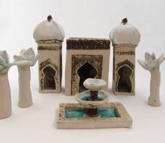 medina - merrie tomkins...ceramic artist , the medina village