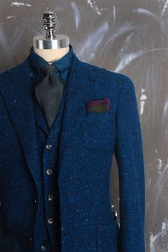 Donegal Tweed sport coat by tailorable                                                                                                                                                                                 More