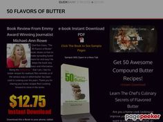 cool Learn To Use Flavored Butters in Your Kitchen   50 Flavors of Butter