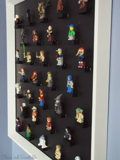 Awesome Lego Mini-Figure organization and storage ideas!