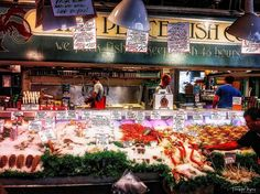 Fish market #seattle #pikeplacemarket #fishmarket