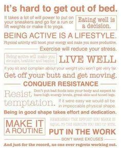 Midweek motivation from Fernwood