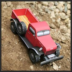 Dodge Power Wagon Free Truck Paper Model Download - http://www.papercraftsquare.com/dodge-power-wagon-free-truck-paper-model-download.html