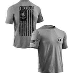 Support a great organization with a great mission.  Under Armour has teamed up with the Wounded Warrior Project to bring you this one of a kind t-shirt.  Under Armour donates a portion of all the proceeds to the Wounded Warrior Project. We will donate an additional 10% from the sale of this sel...