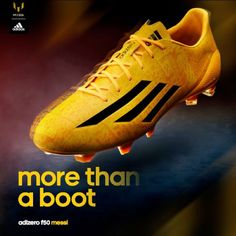 Lionel Messi's new F50 Adizero Shoes