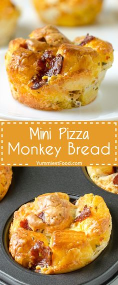 Trendy Appetizers For Kids Party Finger Foods Mini Pizzas Best Party Appetizers, Pizza Appetizers, Appetizers For Kids, Bite Size Appetizers, Finger Food Appetizers, Appetizer Recipes, Snack Recipes, Party Snacks, Snacks Kids