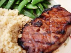 Teriyaki Grilled Pork Chops | Annie's Eats