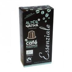 CAFE ESSENZIALE CAPSULAS EXPRESSO 10 UNIDADES BIO - ALTERNATIVA COMERCIO JUSTO - 8435030574405