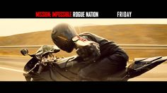Watch the Final Trailer for Mission: Impossible Rogue Nation Mission Impossible Rogue, Ethan Hunt, Rogue Nation, Tom Cruise, Film Industry, Action Movies, Finals, Darth Vader, Bmw