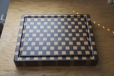 End grain cutting board by Patriot Woodworker DAB