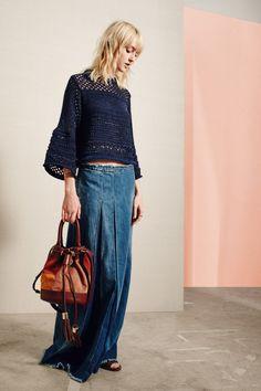 srta-pepis: somerollingstone: See by Chloé... - beautiful knitting