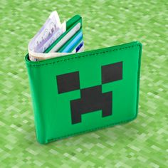Minecraft Creeper Wallet!
