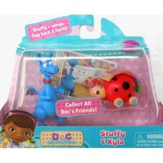 Doc McStuffins Doc's Toy Friends Stuffy & Xyla