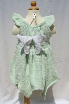Tinker Bell Inspired Princess Beach Cover Up        Custom Made Boutique Outfit Girls Size 1T-6: