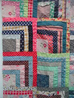 Vintage quilt from Kaffe Fasset's collection