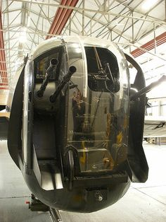 Avro Lancaster rear gunner , the worst job on this type of aircraft