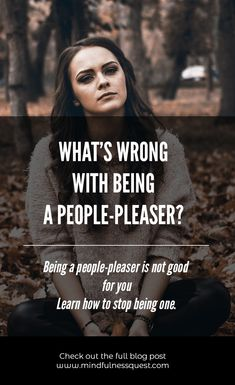 What's Wrong with being a People-Pleaser? Mindfulness Guide to Stop it - MindfulnessQuest Mindfullness Meditation, Chakra Meditation, Chakra Healing, Guided Meditation, Pleasing People, People Pleaser, Anxiety Relief, Stress Relief, Mindfulness Based Stress Reduction