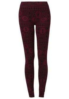 Even&Odd - Leggins - bordeaux