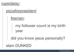 I was going to talk about how technically (if you believe in Jesus and even just with dates) this is incorrect but I'm just going to leave it be because this is the best thing I've seen all day