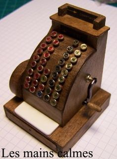 how to: old fashioned cash register