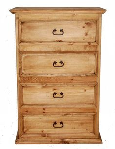 Competitively priced four drawer chest.