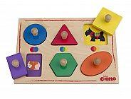 Colour and Shape Matching Peg Puzzle