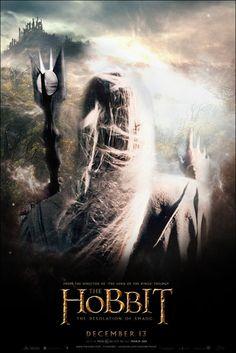 Saruman - The Hobbit - The Desolation of Smaug -  by YoungPhoenix3191.deviantart.com on @deviantART