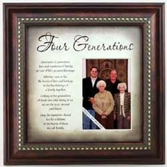 4 Generations Photo Frame Buy From American Christian Gift