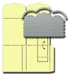 All Occasion Dies Trellis Arch and Edge Cutter with Popping Box Card Template, designed by Robert Addams