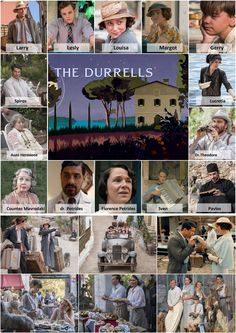 The Durrells Books, Movies, Movie Posters, Tv, Libros, Films, Book, Film Poster, Television Set