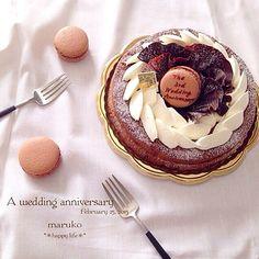 とっても美味しかったみたいです! サントノーレ、最近ようやくコツがつかめ、絞るのが楽しくてたまりませーん(*´艸`*)♡ - 229件のもぐもぐ - ウィーン風チョコレートケーキ② by TAEKO ITO