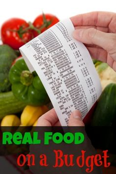 how to shop for your family real food and organic food on a budget