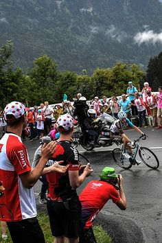#TDF2016 France's Romain Bardet rides during the 146 km nineteenth stage of the 103rd edition of the Tour de France cycling race on July 22 2016 between...