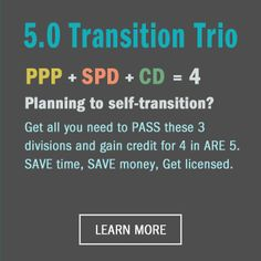 Our Transition Trio provides all the study tools you need to pass the Programming, Planning & Practice, Site Planning & Design, and Construction Documents & Services divisions. #architecture