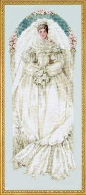 White Lace by Lavender and Lace - Cross Stitch Kits & Patterns